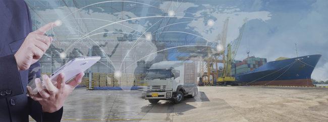Transport Tracking System (RFID-based satellite-aided vehicle tracking system)