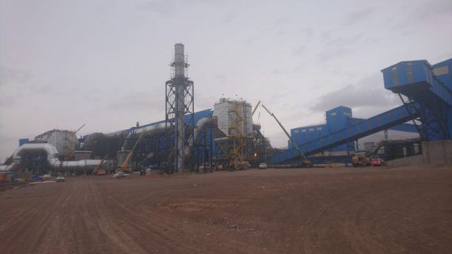 ACS commissioning works at the pelletizing plant Sangan-1