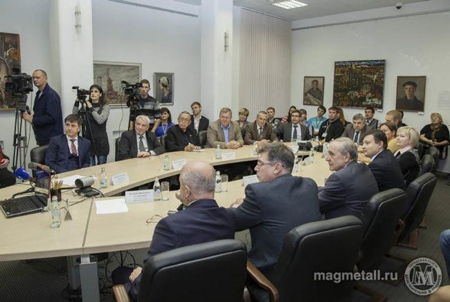 Круглый стол на тему стратегии развития города и комбината