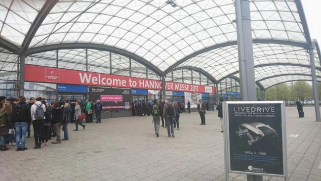 Международная выставка HANNOVER MESSE 2017