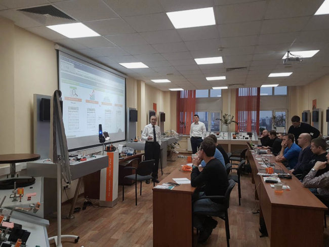 """""""KONSOM GROUP"""" took a part in the Ifm electronic training seminar"""